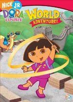 Dora the Explorer World Adventure DVD