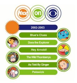 Nick on CBS 2002-2003