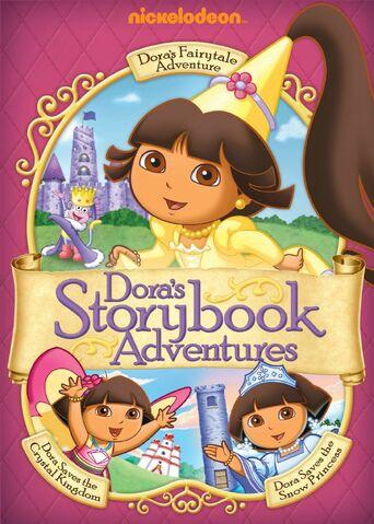 File:Dora the Explorer Dora's Storybook Adventures DVD.jpg