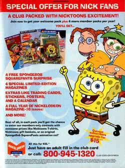 Nickelodeon Magazine Presents advertisement May 2004