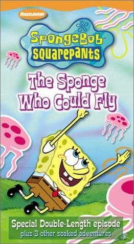 File:SpongebobVHS TheSpongeWhoCouldFly.jpg