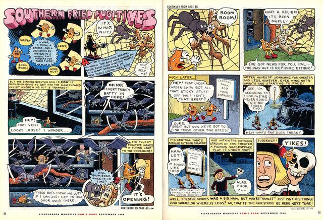 File:Nickelodeon Magazine comic Southern Fried Fugitives September 1998.jpg