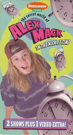 File:SecretWorldOfAlexMack In the Nick of Time VHS.jpg