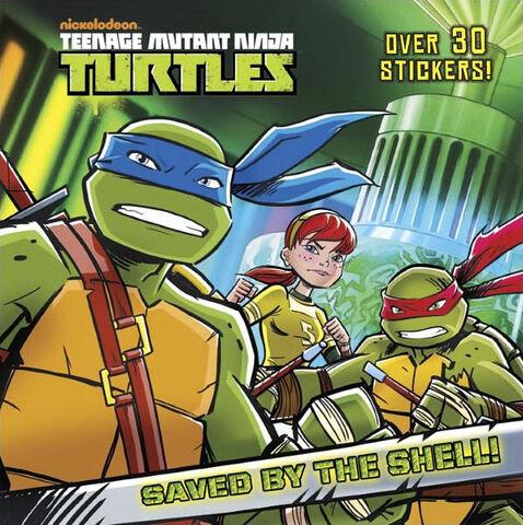 File:Teenage Mutant Ninja Turtles Saved by the Shell! Book.jpg