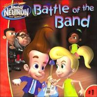 Jimmy Neutron Battle of the Band Book