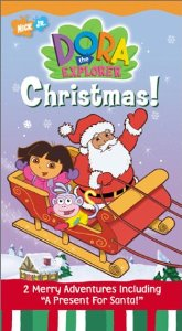 File:Dora the Explorer Dora's Christmas VHS.jpg