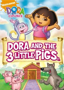 File:Dora the Explorer Dora and the Three Little Pigs DVD.jpg
