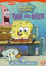 SpongeBob DVD - Tide and Seek