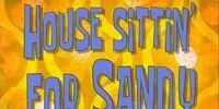 House Sittin' for Sandy
