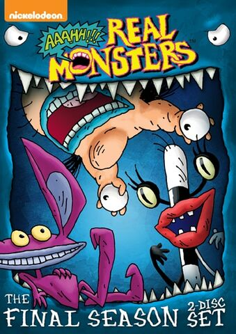 File:AaahhRealMonsters Season4 DVD.jpg