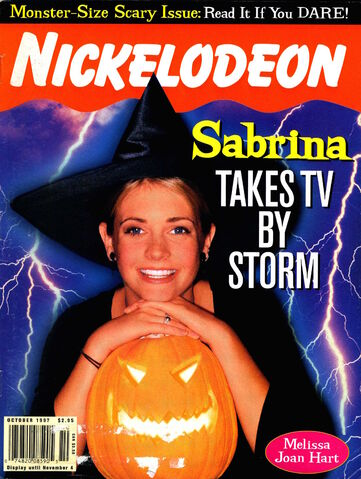 File:Nickelodeon magazine cover october 1997 sabrina teenage witch.jpg