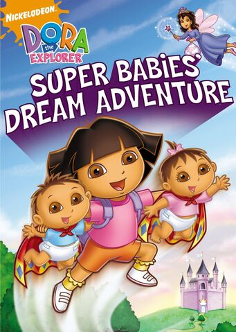 File:Dora the Explorer Super Babies' Dream Adventure DVD.jpg