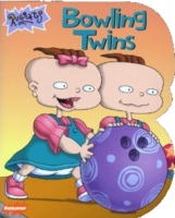 Rugrats Bowling Twins Book