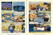 Nickelodeon Magazine comic Southern Fried Fugitives October 1996