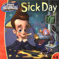 Jimmy Neutron Sick Day Book
