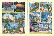 Nickelodeon Magazine comic Southern Fried Fugitives May 1997