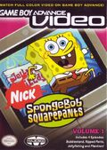 GBA Video SpongeBob Vol 1