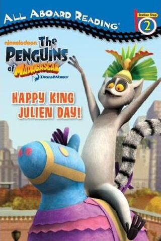 File:Penguins of Madagascar Happy King Julien Day! Book.jpg
