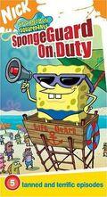 SpongebobVHS SpongeguardOnDuty