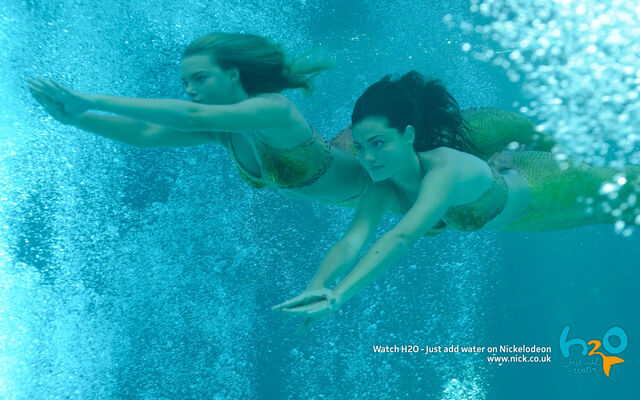 File:Swimming mermaids cleo bella.jpg