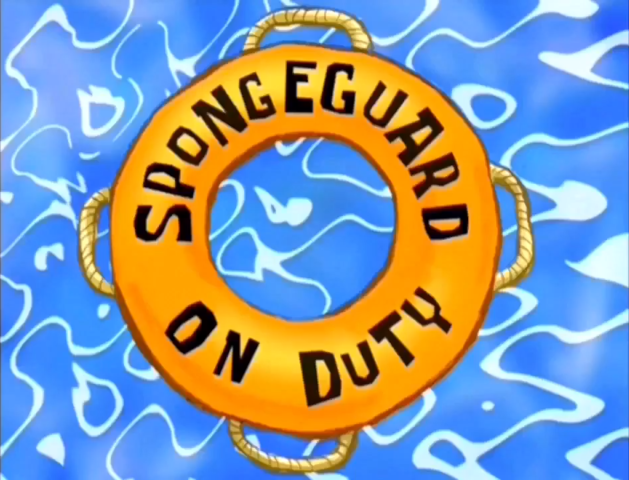 SpongeGuard on Duty