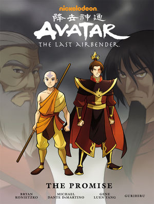 File:Avatar The Last Airbender The Promise Book.jpg