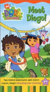 File:Dora the Explorer Meet Diego! VHS.jpg