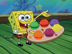 SpongeBob presents Pretty Patties
