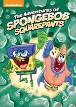 AdventuresOfSpongeBob DVD