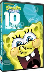 SpongeBob 10 Happiest Moments general retail release