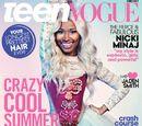 Teen Vogue photo shoot