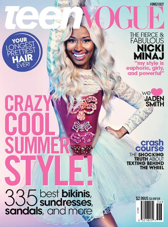 Teen Vogue Photo Shoot Nicki Minaj Wiki Fandom Powered By Wikia