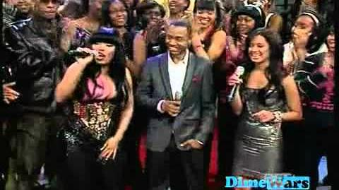 Nicki Minaj on BET 106 & Park 2010