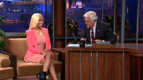 If Nicki Minaj Were President... - The Tonight Show with Jay Leno