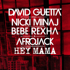 Hey mama single cover