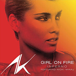 Girl on fire inferno