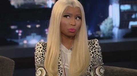 Nicki Minaj on Jimmy Kimmel Live PART 1