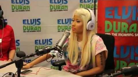 Nicki Minaj Elvis Duran Interview Part 1