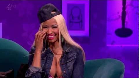 Nicki Minaj - Interview on Alan Carr Chatty Man. 2-11-2012
