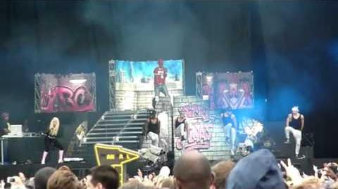 NICKI MINAJ 'ROMAN'S REVENGE' @ HACKNEY WEEKEND LONDON 2012