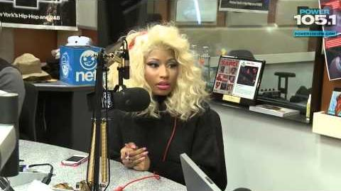 Interview With Nicki Minaj at The Breakfast Club Power 105.1