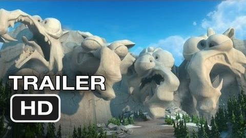 Ice Age Continental Drift Official Trailer 2 (2012) Animated Movie HD