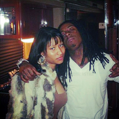 Minaj and Wayne first meet, c. 2007