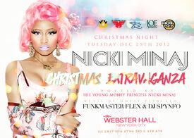 Nicki xmas poster
