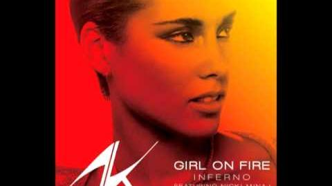 Girl On Fire (Inferno Version) (Audio) - Alicia Keys ft. Nicki Minaj