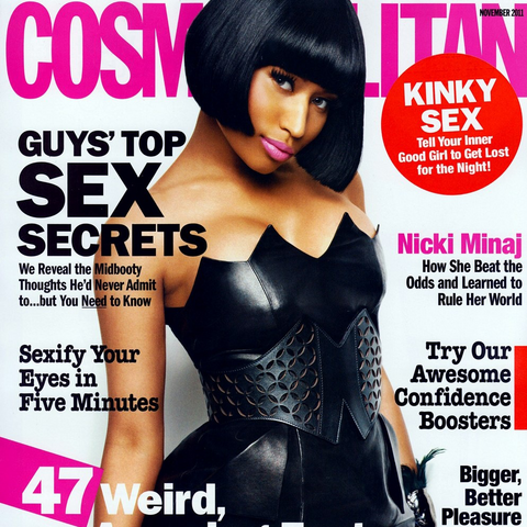 Nicki Minaj, cover girl of the November 2011