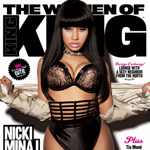 The March/April 2011 cover featuring Nicki Minaj.
