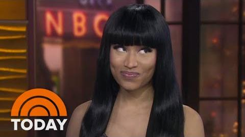 "Nicki Minaj ""My Life's An Emotional Roller Coaster"" - TODAY"