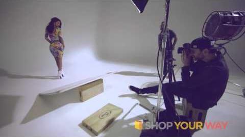 Nicki Minaj Kmart Spring Collection Behind the Scenes 3