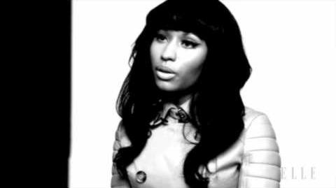 Behind the Shoot Nicki Minaj - ELLE Magazine May 2011